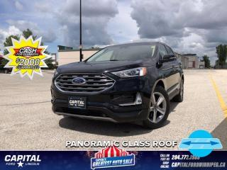 Used 2019 Ford Edge SEL AWD *Sunroof *Heated Seats  *Navigation for sale in Winnipeg, MB