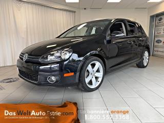 Used 2013 Volkswagen Golf TDI Comfortline, Gr. Électrique, A/C. Manuel for sale in Sherbrooke, QC