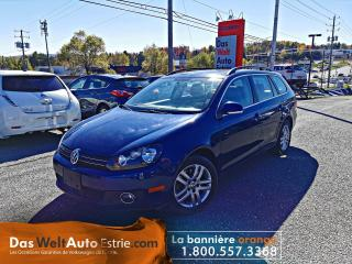 Used 2011 Volkswagen Golf Wagon TDI, Highline, Automatique Bas Kilo for sale in Sherbrooke, QC
