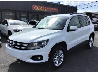 Used 2016 Volkswagen Tiguan 4MOTION-BLUETOOTH-SIEGES CHAUFFANTS-GR ELECTRIQUE for sale in Laval, QC