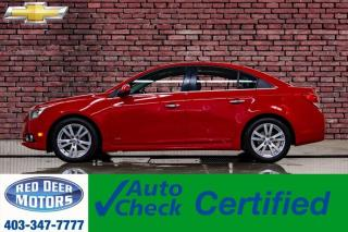 Used 2012 Chevrolet Cruze LTZ RS Leather Roof for sale in Red Deer, AB