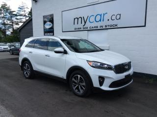 Used 2019 Kia Sorento 3.3L EX V6, 7 PASS, LEATHER, HEATED SEATS, BACKUP CAM!! for sale in Richmond, ON