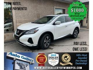 Used 2019 Nissan Murano AWD SV for sale in Winnipeg, MB