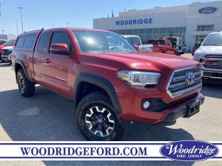 Used 2016 Toyota Tacoma TRD Off Road 2.5L, AUTOMATIC TRANSMISSION, NAVIGATION, CLOTH HEATED SEATS. for sale in Calgary, AB