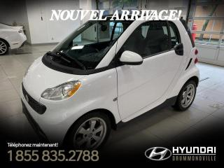 Used 2015 Smart fortwo GARANTIE + NAVI + CAMERA + A/C + CRUISE for sale in Drummondville, QC