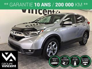 Used 2018 Honda CR-V EX-L AWD ** GARANTIE 10 ANS ** Silhouette sport, personnalité athlétique, technologies novatrices, un choix évident! for sale in Shawinigan, QC