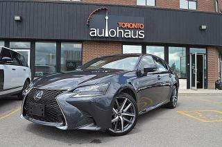 Used 2017 Lexus GS 350 /F-SPORT/RED LEATHER/HUD/BSM/LDW for sale in Concord, ON