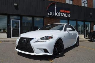 Used 2016 Lexus IS 300/F-SPORT/NAVI/RED LEATHER/BSM/LDW for sale in Concord, ON