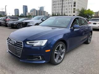 Used 2017 Audi A4 TECHNIK/NAVI/CAM/SUNROOF/BSM/LDW Technik for sale in Concord, ON