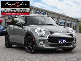 Used 2015 MINI Cooper ONLY 56K! *6 SPEED MANUAL**DUAL PANORAMIC SUNROOF* for sale in Scarborough, ON