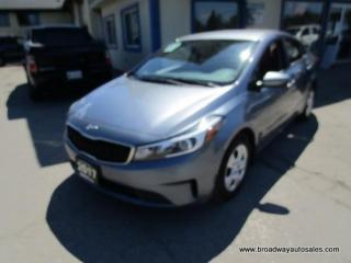 Used 2017 Kia Forte FUEL EFFICIENT LX EDITION 5 PASSENGER 2.0L - DOHC.. CD/AUX/USB INPUT.. BLUETOOTH SYSTEM.. KEYLESS ENTRY.. for sale in Bradford, ON