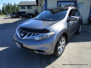 Used 2013 Nissan Murano ALL-WHEEL DRIVE PLATINUM EDITION 5 PASSENGER 3.5L - V6.. NAVIGATION.. LEATHER.. HEATED SEATS.. DUAL SUNROOF.. BACK-UP CAMERA.. BLUETOOTH.. for sale in Bradford, ON