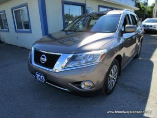 Used 2013 Nissan Pathfinder LOADED SV EDITION 5 PASSENGER 3.5L - V6.. 4X4 SYSTEM.. HEATED SEATS.. BACK-UP CAMERA.. BLUETOOTH SYSTEM.. KEYLESS ENTRY & START.. for sale in Bradford, ON