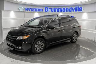 Used 2015 Honda Odyssey TOURING + GARANTIE + NAVI + TOIT +CUIR+W for sale in Drummondville, QC