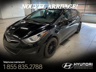 Used 2014 Hyundai Elantra L + GARANTIE + MAGS + GROUPE ELECTRIQUE for sale in Drummondville, QC