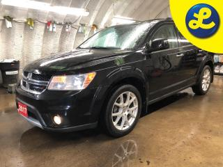 Used 2017 Dodge Journey R/T AWD * Leather * Power Sunroof * 19 Inch black alloy rims * 6 Premium Speakers w/Subwoofer * LCD Touch Screen Display * Uconnect 8.4 CD/MP3 * for sale in Cambridge, ON