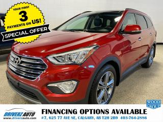 Used 2014 Hyundai Santa Fe XL Limited HEATED & COOL SEATS, NAVIGATION, AND LOTS MORE.. for sale in Calgary, AB