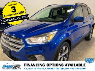 Used 2017 Ford Escape SE PANORAMIC ROOF, NAV, POWER LIFT GATE... for sale in Calgary, AB