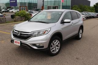 Used 2016 Honda CR-V Accident Free, One Owner CR-V SE with very low KM! Certified Powertrain Warranty Until 08/30/2023 or for sale in Waterloo, ON