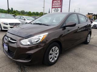 Used 2015 Hyundai Accent GL 6 SPEED !!  BLUE TOOTH !!  HEATED SEATS for sale in Cambridge, ON
