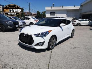 Used 2013 Hyundai Veloster TURBO - Navigation - Power Sun Roof - Leather - No Accidents - One Owner for sale in North York, ON