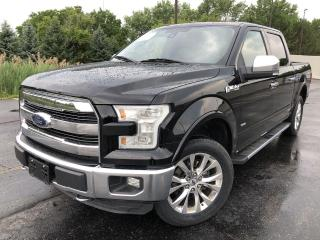 Used 2016 Ford F-150 LARIAT CREW 4x4 for sale in Cayuga, ON