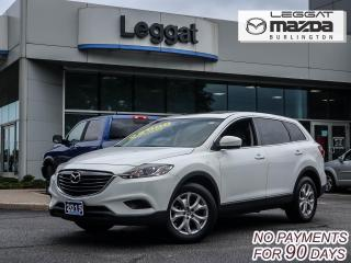 Used 2015 Mazda CX-9 GS-L  LEATHER HEATED SEATS, MOONROOF, AWD, BLUETOOTH for sale in Burlington, ON