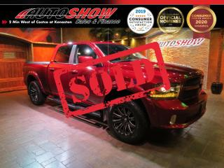 Used 2017 RAM 1500 Sport *Htd Leather, CUSTOM + Dual Exhaust* for sale in Winnipeg, MB