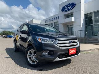 Used 2018 Ford Escape SEL for sale in St Thomas, ON