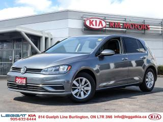 Used 2018 Volkswagen Golf 1.8 TSI Comfortline for sale in Burlington, ON