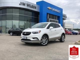 Used 2018 Buick Encore Premium AWD PREMIUM ROOF NAV CHROMES REAR CAMERA for sale in Orillia, ON