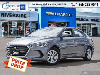 Used 2018 Hyundai Elantra GL for sale in Brockville, ON