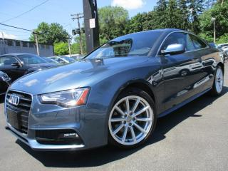 Used 2016 Audi A5 2.0T S-LINE PROGRESIV NAVIGATION|6 SPEED|1OWNER for sale in Burlington, ON