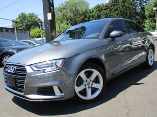 Used 2017 Audi A3 2.0T QUATTRO KOMFORT|ONE OWNER|52KM|SUNROOF for sale in Burlington, ON