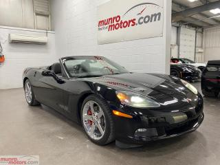 Used 2008 Chevrolet Corvette 2dr Conv 3LT HUD NAV MEM heated seats red calipers for sale in St. George, ON