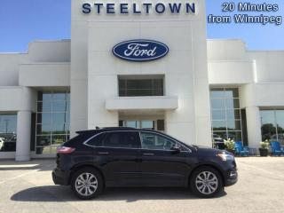 Used 2019 Ford Edge Titanium AWD  - Heated Seats -  Power Tailgate for sale in Selkirk, MB