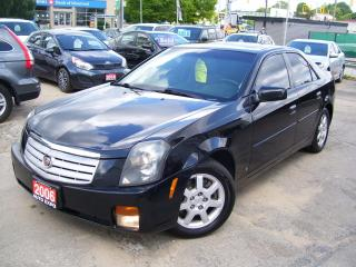 Used 2006 Cadillac CTS CERTIFIED,A/C,LEATHER,LOADED,SUNROOF,TINTED for sale in Kitchener, ON