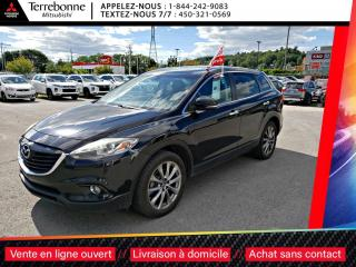 Used 2015 Mazda CX-9 GT CUIR+TOIT+ MAGS 20 + 7 PASSAGERS for sale in Terrebonne, QC