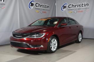 Used 2016 Chrysler 200 LIMITED V6 3.6LCAM DE RECUL BLUETOOTH MAG**4348 KM for sale in Montréal, QC