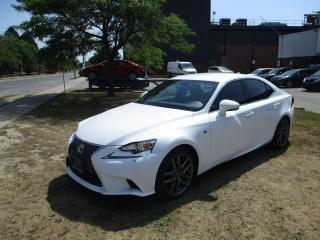 Used 2014 Lexus IS 350 F-SPORT ~ AWD ~ WHITE ON RED ~ 2 SETS OF TIRES for sale in Toronto, ON