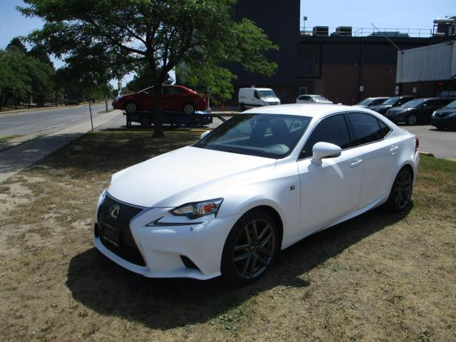 2014 Lexus IS 350 F-SPORT ~ AWD ~ WHITE ON RED ~ 2 SETS OF TIRES
