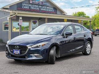Used 2018 Mazda MAZDA3 GS,R/VCAM,B.TTOTH,BLINDSPOT,LANE DEPARTURE,PWR S/R for sale in Orillia, ON
