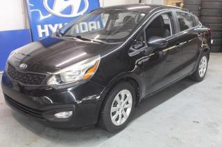 Used 2013 Kia Rio Berline 4 portes, LX ( WOW 46000 KM ) for sale in St-Constant, QC