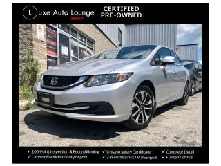 Used 2013 Honda Civic SUPER CLEAN, SUNROOF, HEATED SEATS, BACK UP CAMERA for sale in Orleans, ON