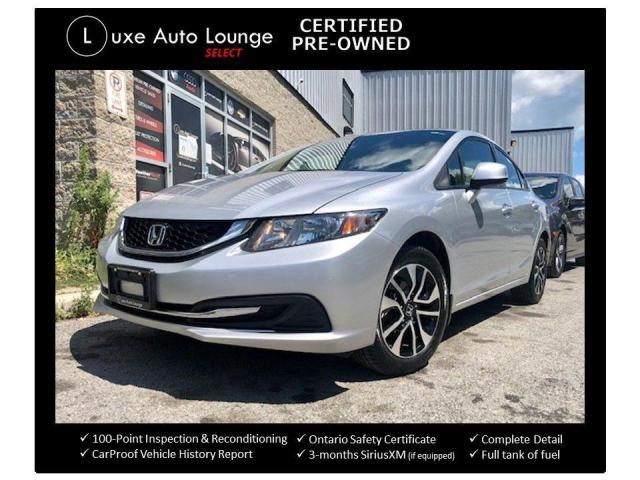 2013 Honda Civic SUPER CLEAN, SUNROOF, HEATED SEATS, BACK UP CAMERA