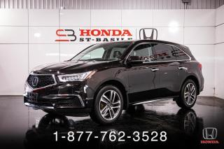 Used 2017 Acura MDX NAVIGATION + AWD + CUIR + TOIT + WOW! for sale in St-Basile-le-Grand, QC
