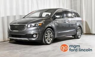Used 2016 Kia Sedona SXL FWD for sale in Red Deer, AB