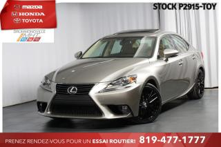 Used 2016 Lexus IS 300 PREMIUM| INTÉGRALE| VOLANT CHAUFFANT for sale in Drummondville, QC