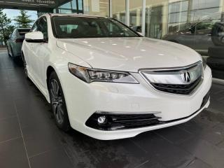 Used 2016 Acura TLX V6 Elite, SH-AWD, POWER HEATED/VENTED LEATHER SEATS, NAVI, SUNROOF for sale in Edmonton, AB