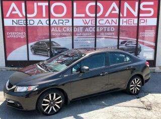 Used 2013 Honda Civic TOURING-ALL CREDIT ACCEPTED for sale in Scarborough, ON